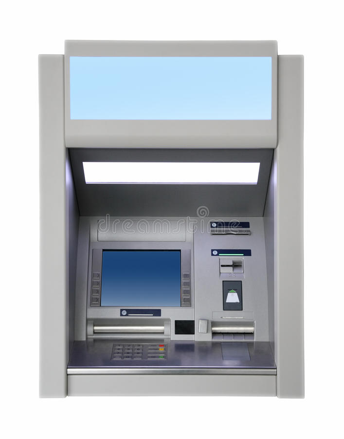 Download Wall cash dispense stock image. Image of card, machine - 11483045