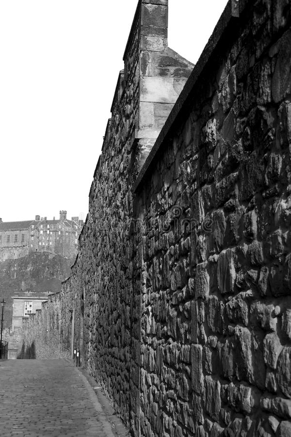 Download Wall and Castle stock photo. Image of protection, landmark - 12161966