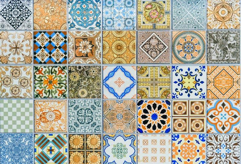 Wall Ceramic Tiles Patterns Mega Set From Thailand Stock Photo ...