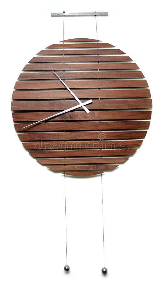 Download Wall clock stock photo. Image of hourglass, wooden, second - 19320654
