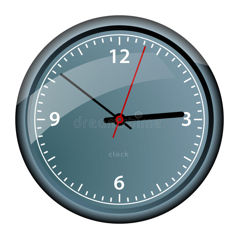 Download Wall clock stock vector. Illustration of time, concept - 21871856