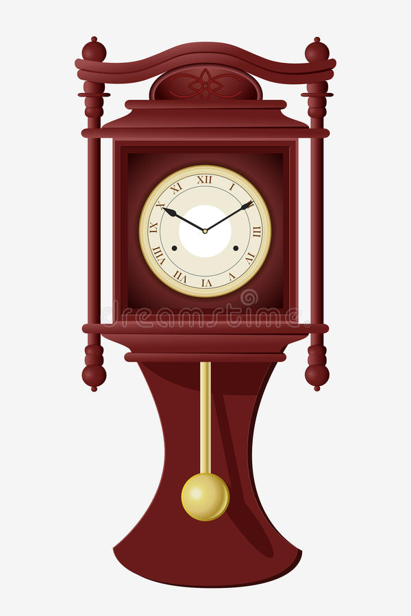 Wall Clock royalty free illustration