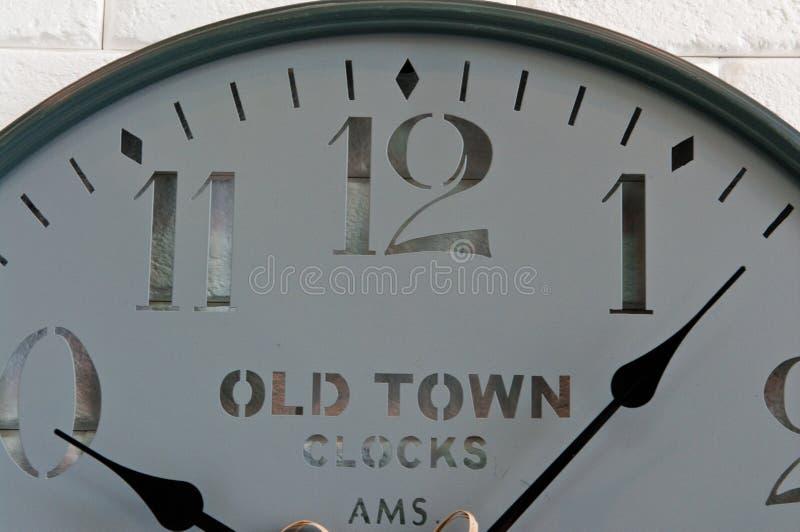 Wall clock face royalty free stock photos