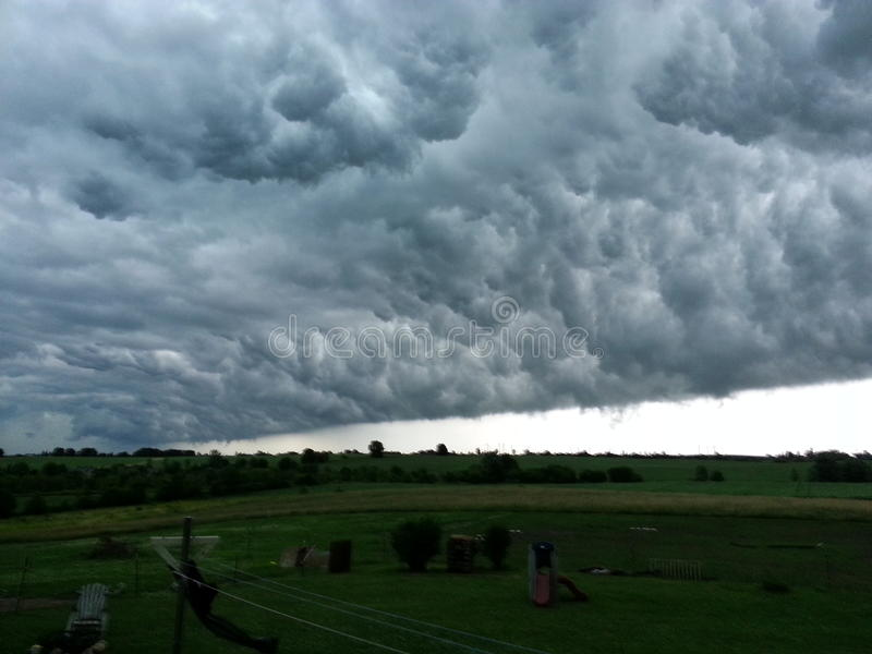 Wall cloud stock images
