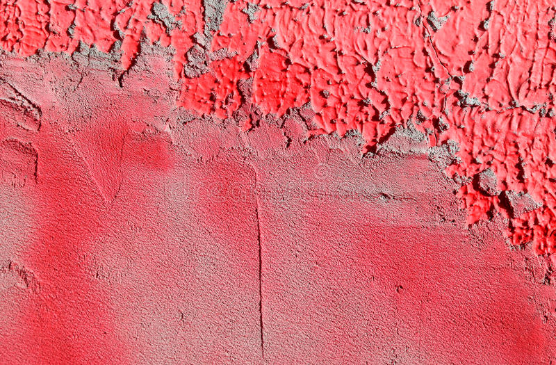 Wall with colorful pink paint pattern paint royalty free stock photography