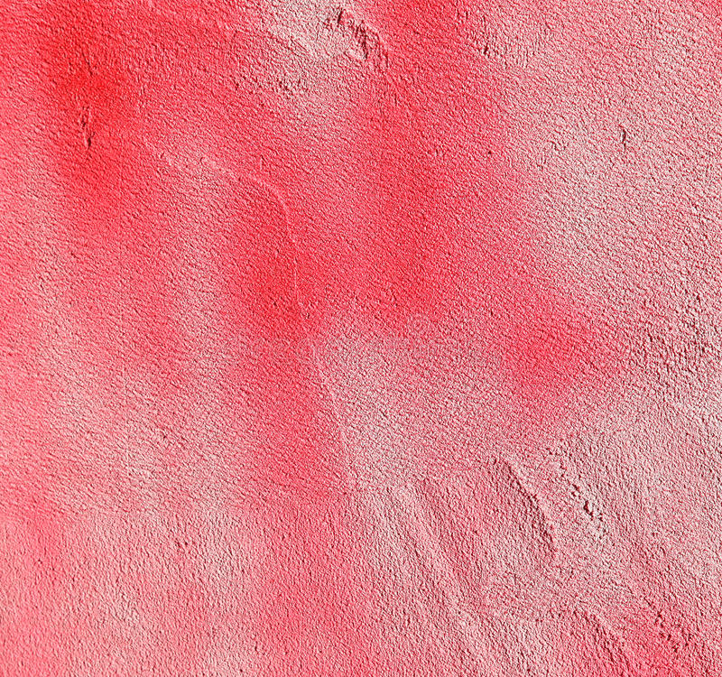 Wall with colorful pink paint pattern paint stock photo