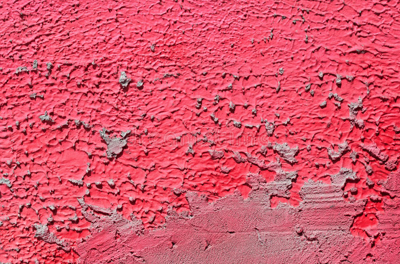 Wall with colorful purple pink wall paint pattern paint royalty free stock image