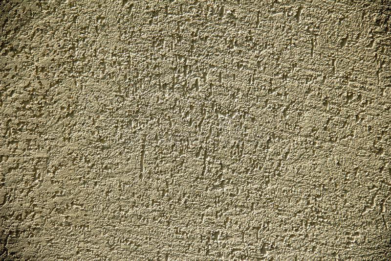 Wall of concrete and brick with plaster texture stock image