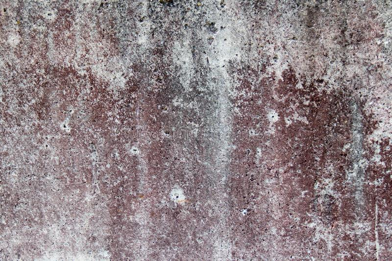Wall of concrete and brick with plaster texture stock photo