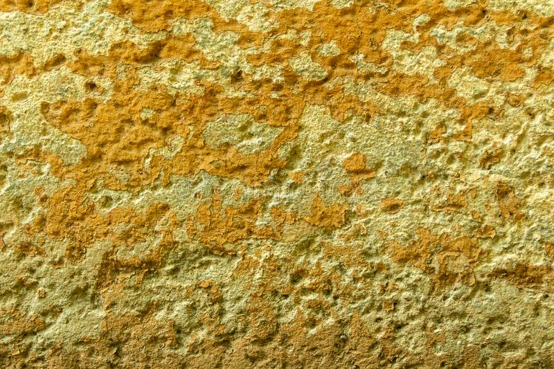 Wall of concrete and brick with plaster texture stock photos