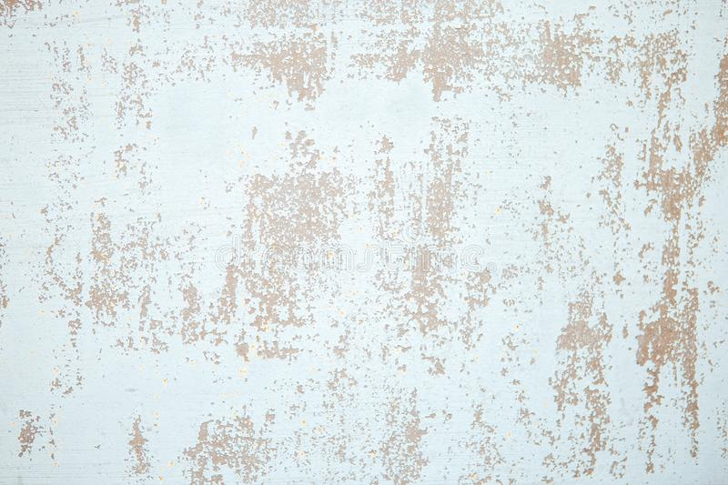 Wall with cracked paint background. Vintage background and wallpaper with space for text or image stock photos