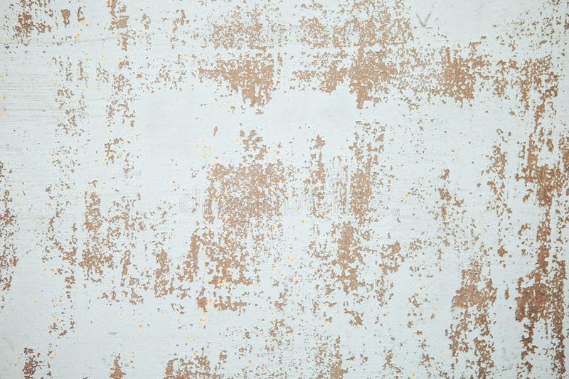 Wall with cracked paint background. Vintage background and wallpaper with space for text or image royalty free stock image