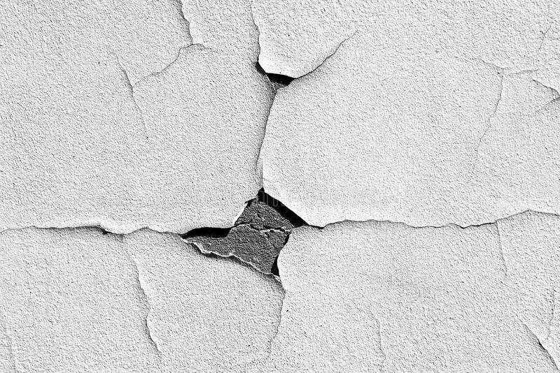 Wall with cracked wall paint pattern paint royalty free stock image