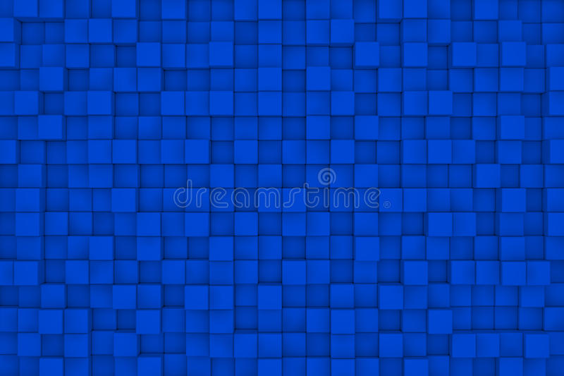Wall of cubes. Abstract background vector illustration