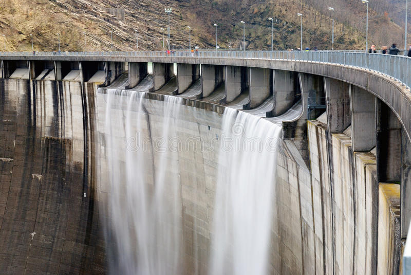 Download Wall Of The Dam Royalty Free Stock Photo - Image: 38127325