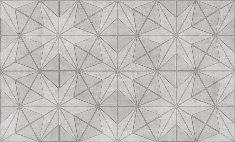Wall decore geometric background texture. Wall decore texture tile royalty free stock photos