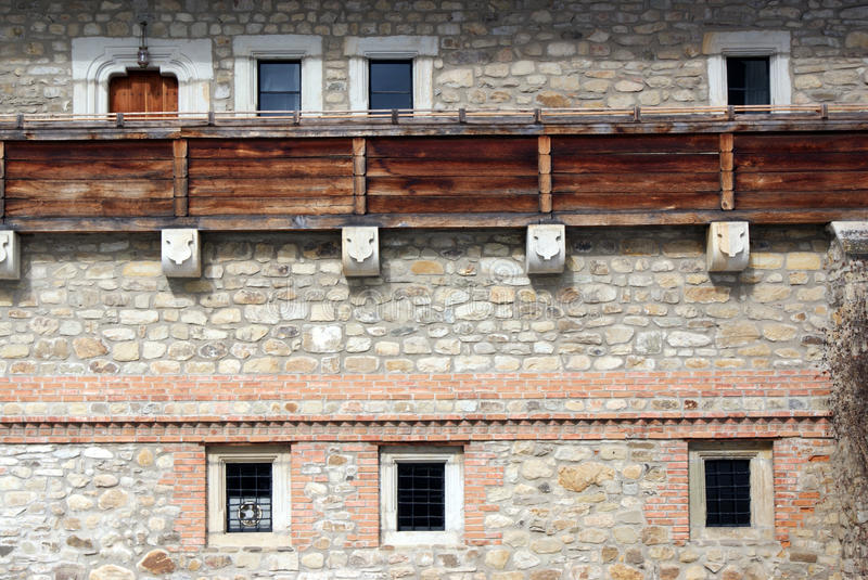 Download Wall Detail Of An Ancient Castle Stock Image - Image: 13302117