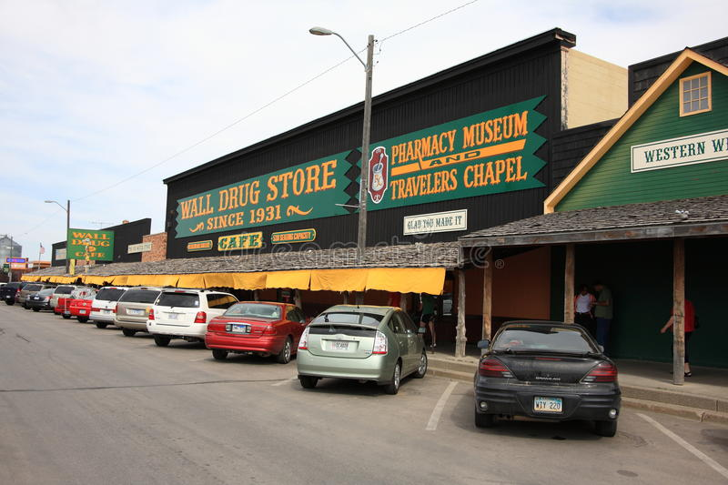 Wall Drug Store Editorial Photo