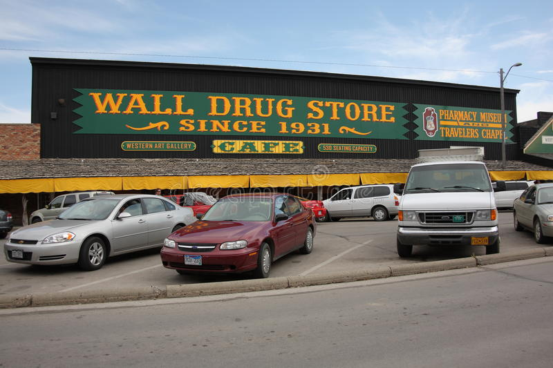 Wall Drug Store Editorial Image