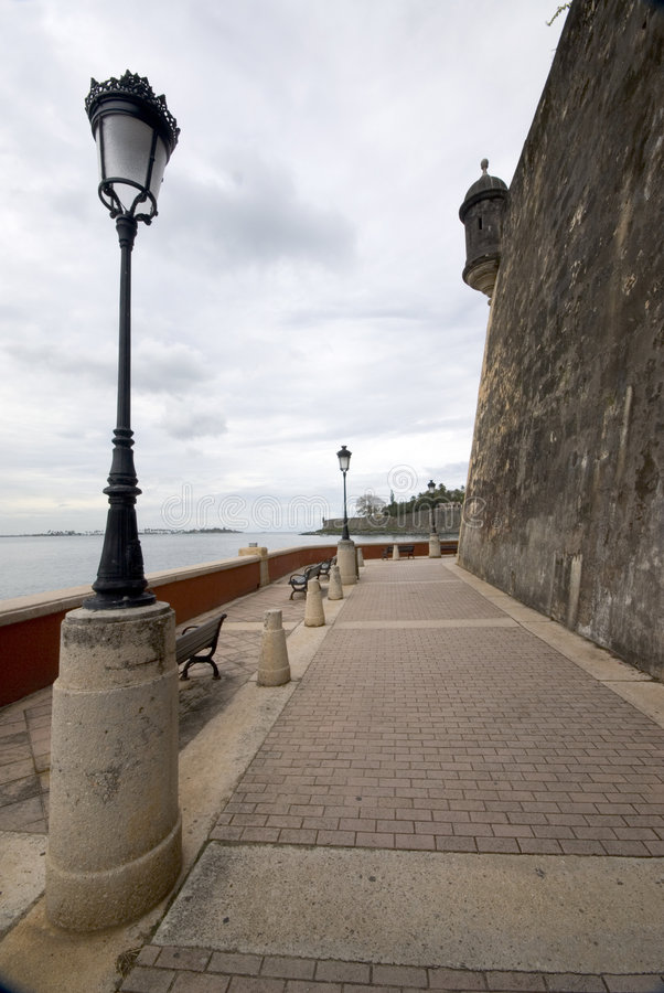 Download The Wall El Morro Royalty Free Stock Images - Image: 2319079