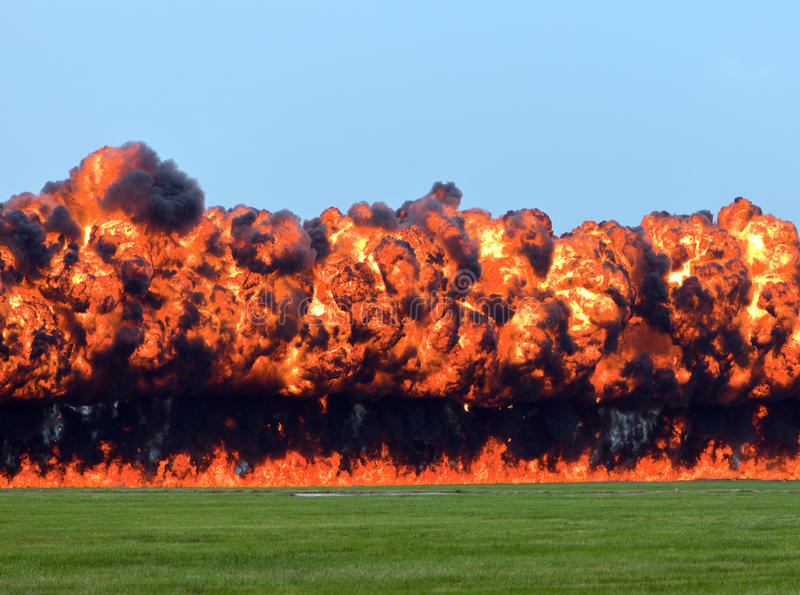 Download Wall of Fire stock photo. Image of napalm, explosion - 20837514