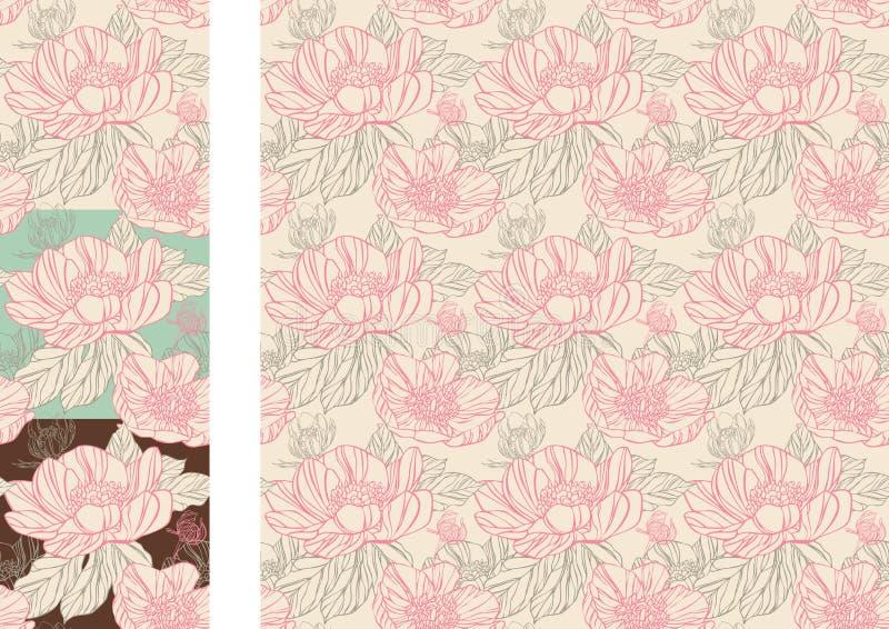 Wall_flower ilustração stock