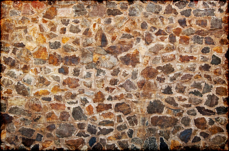 Download Wall from granite stones stock photo. Image of built - 10663088