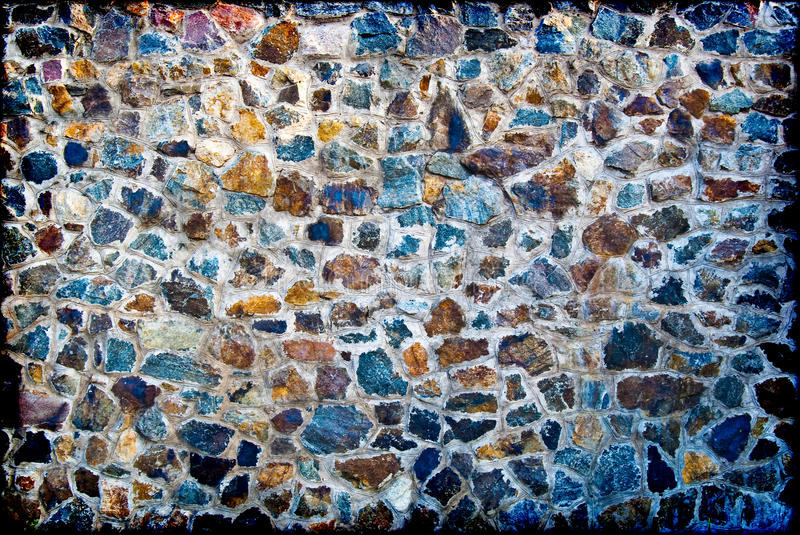 Download A wall from granite stones stock photo. Image of copy - 10813860