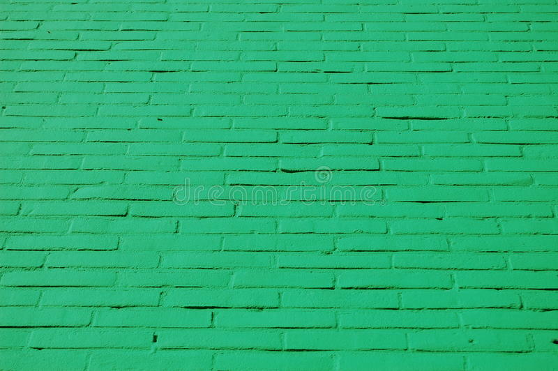 Download A wall with green bricks stock image. Image of solid - 15372845