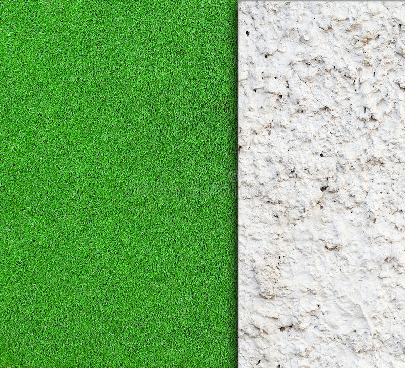 Download Wall With Green Grass Background Stock Photo - Image of natural, building: 39514946