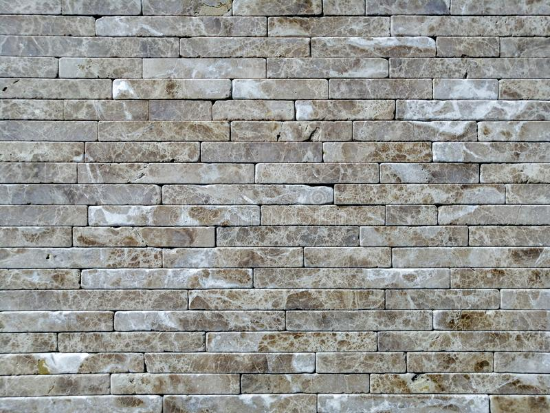 Travertine Tile Brick Building Material Color Stock Photo