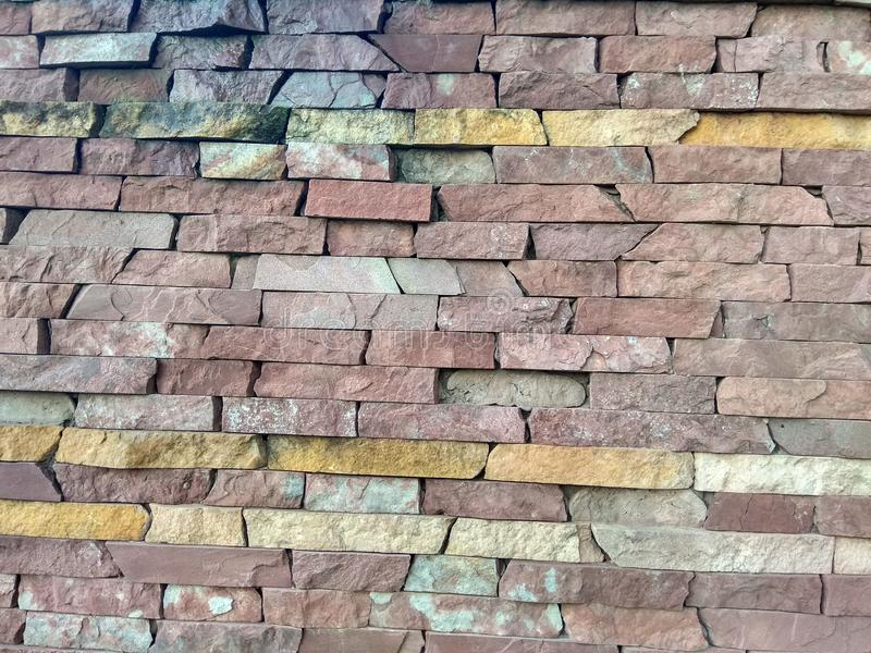 The wall of a house in the old part of the city! royalty free stock photography