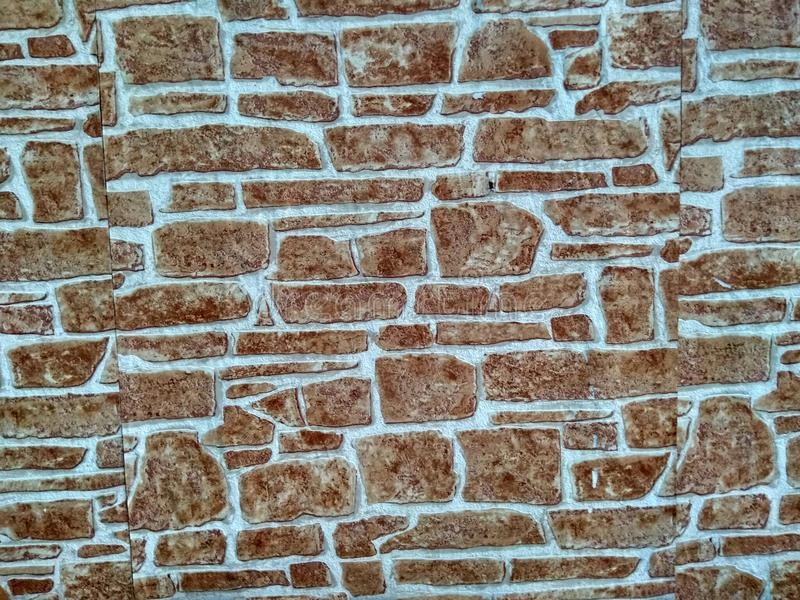 The wall of a house in the old part of the city! stock image