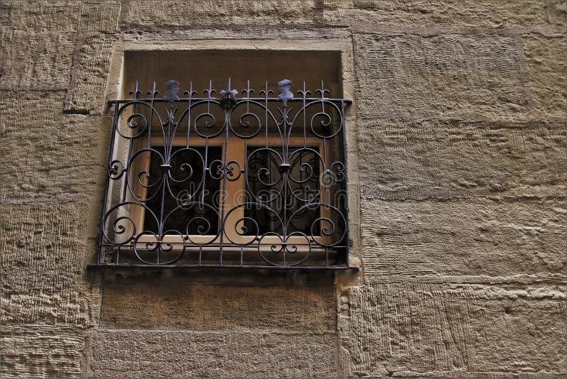Wall, Iron, Window, Metal stock photo