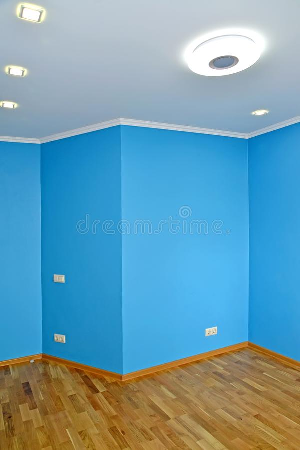 Wall ledge in the living room.  stock images