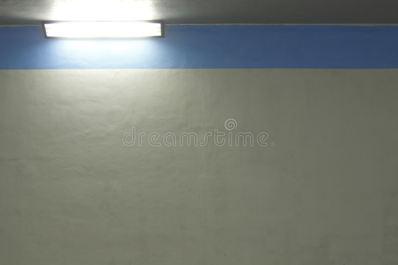 Wall and light royalty free stock photo