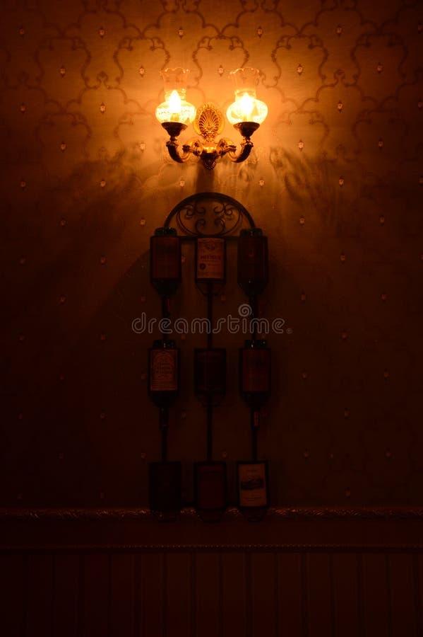 Wall Light royalty free stock image