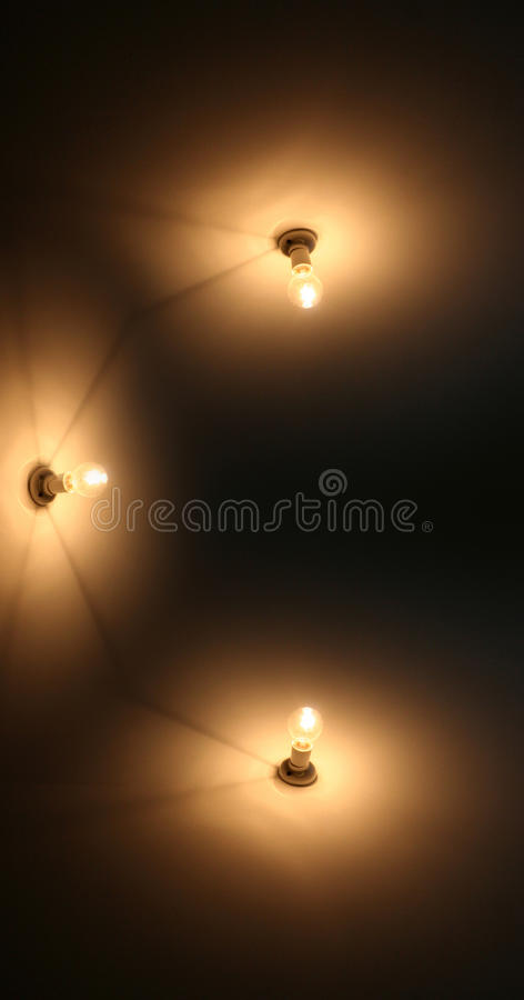 Download Wall Lighting stock image. Image of radiance, night, down - 14620073