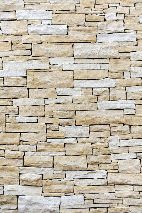 Free Wall Made From Sandstone Bricks Royalty Free Stock Photography - 9924277