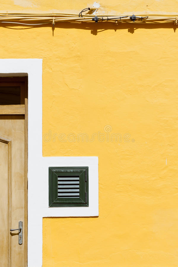 Download Wall in Mahon stock photo. Image of facades, liberty - 26954734