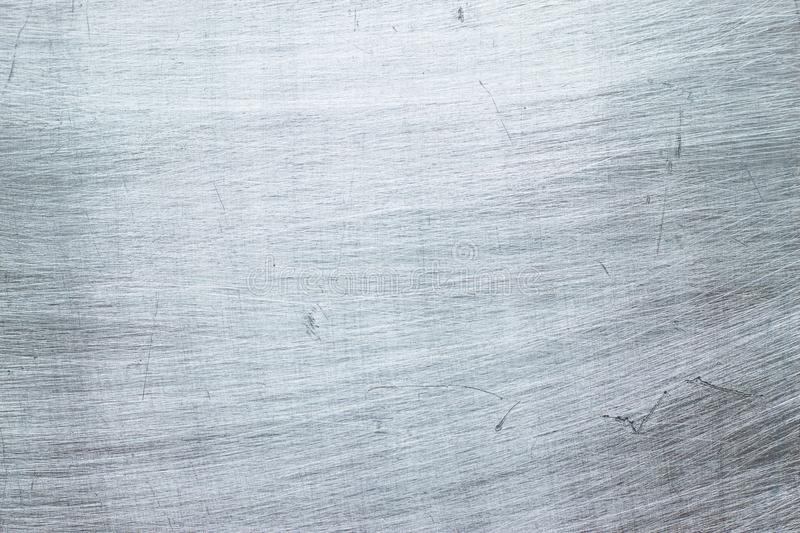 Brushed steel texture, part of metal construction as background royalty free stock photography