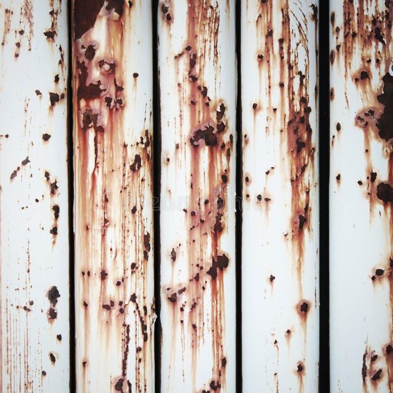 Wall of metal rustic royalty free stock image