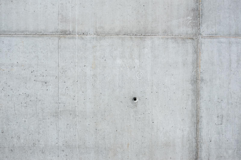Wall of monolithic concrete royalty free stock photo