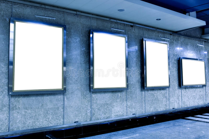 Download Wall In Museum With Empty Frames Stock Image - Image: 13395087