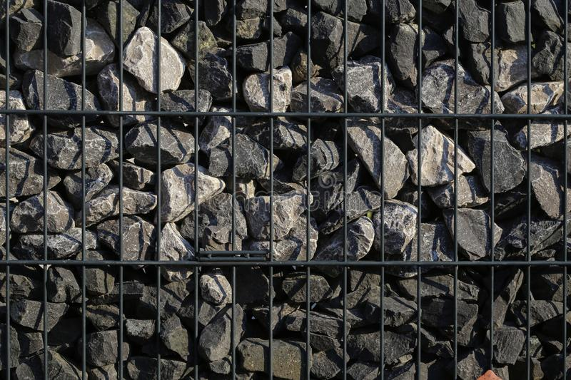 Wall of natural stones royalty free stock photography