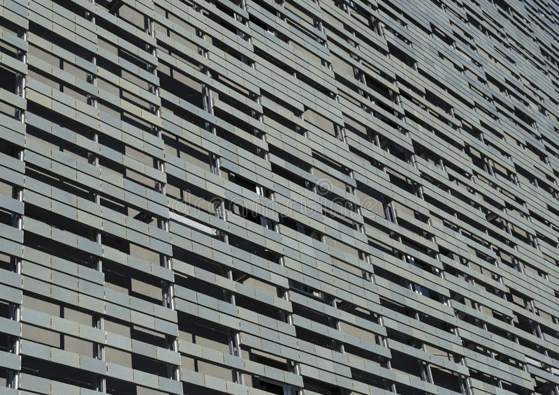 Wall. Of Nuovo Teatro dell'Opera in Florence royalty free stock photos