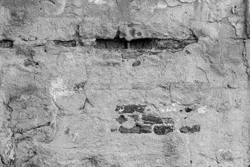 Wall. Old Concrete wall background or textured, Concrete dirty with moldy, Stucco gray wall, Cement texture or construction royalty free stock image