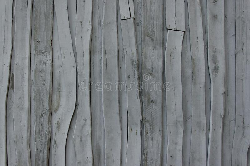 Wall of old gray abstract boards stock image