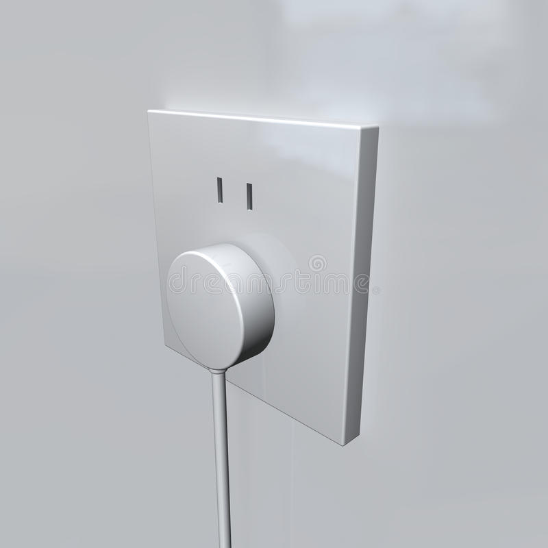 Wall Outlet Stock Photography
