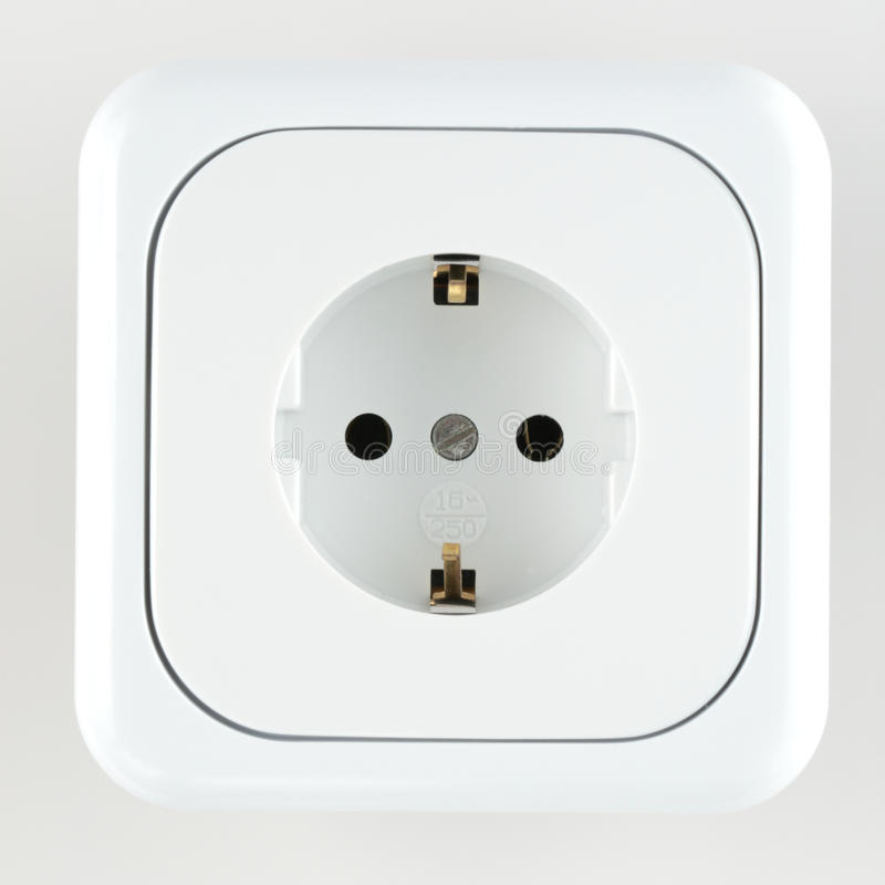 Wall Outlet Royalty Free Stock Photo